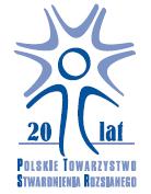 logo Obchody XX lecia działalności PTSR