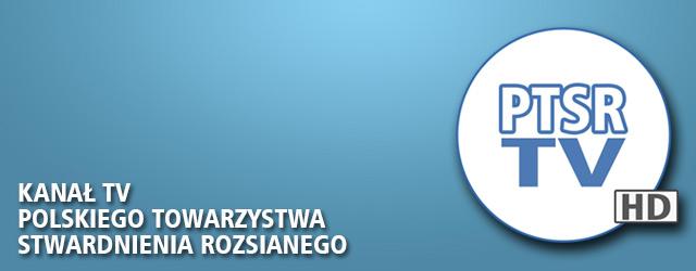 PTSR TV - baner promujący kanał youtube